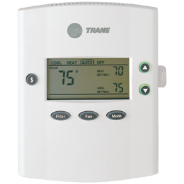 xb200 residential thermostat pro quest cooling rh proquestcooling com trane air conditioners thermostat manual Trane Touch Screen Thermostat Manual