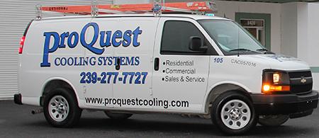 Proquest Cooling Service Van
